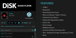 Disk-Audio-Player-For-Wordpress